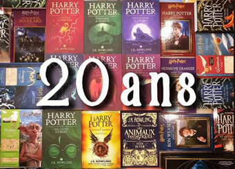 Photo Livres Harry Potter